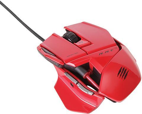 Kompiuterinė pelė R.A.T.3 - raudona