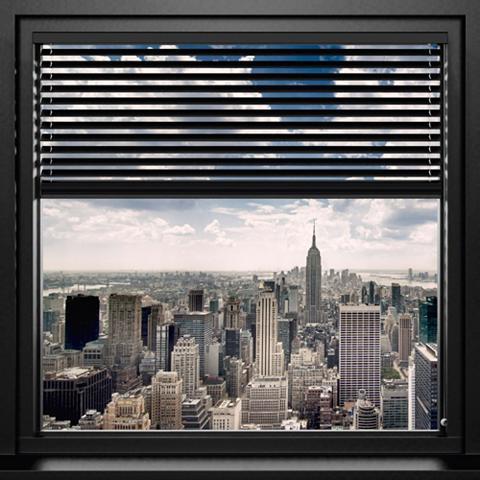 Paveikslas »New York - window blinds« ...