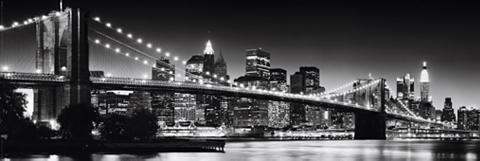 HOME AFFAIRE Paveikslas »New York - Brooklyn Bridge...