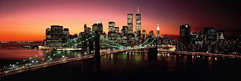 Paveikslas »New York - Brooklyn Bridge...