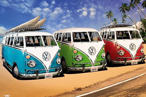 HOME AFFAIRE Paveikslas »VW Californian Camper - ca...