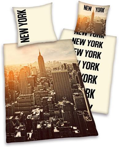 YOUNG COLLECTION Patalynės užvalkalai »New York« su Sky...