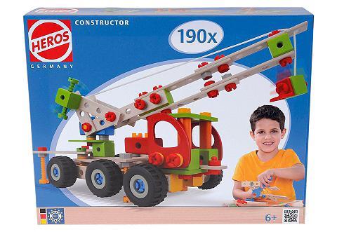 HEROS Bauset iš mediena 190-tlg. »Constructo...