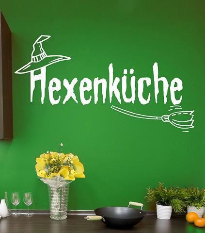 Sienų lipdukai »Hexenküche«