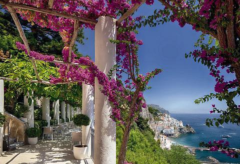 KOMAR Fototapetas »Amalfi« 368/254 cm