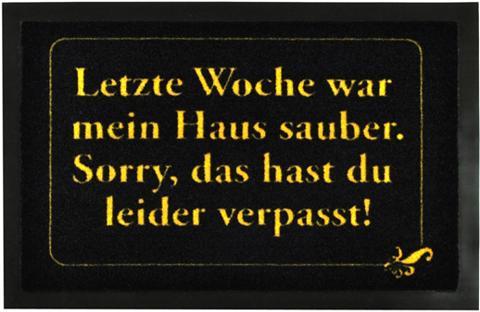 HANSE HOME Durų kilimėlis »Haus sauber« rechtecki...