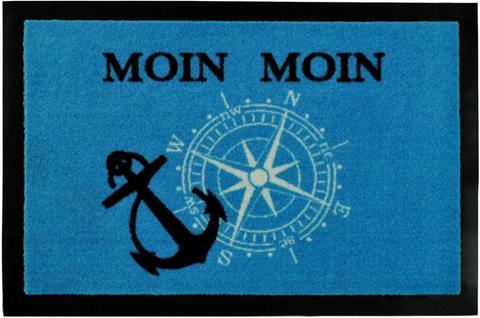 HANSE HOME Durų kilimėlis »Moin Moin« rechteckig ...