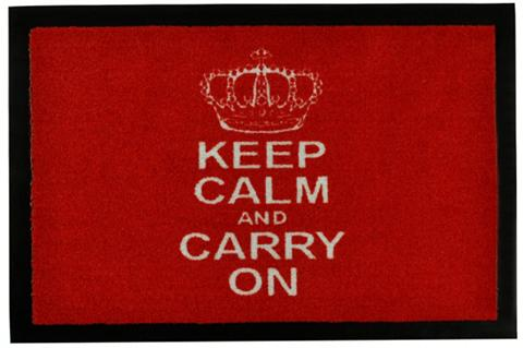 Durų kilimėlis »Keep Calm« rechteckig ...