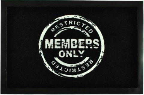 HANSE HOME Durų kilimėlis »Members Only« rechteck...