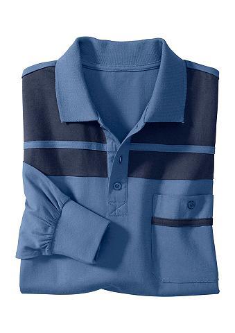 CLASSIC BASICS Polo marškinėliai su Passe ir Streifen...