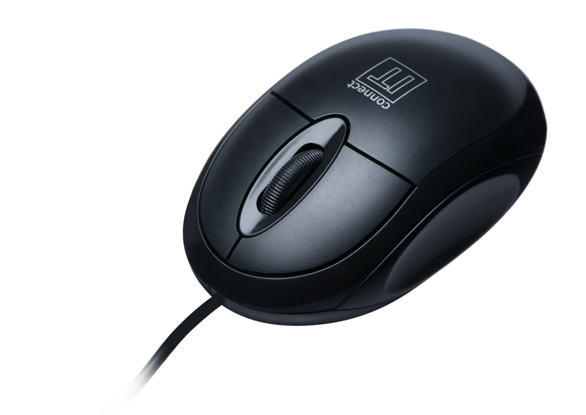 connect IT Mouse »IT optische Maus V90 USB Schwarz«
