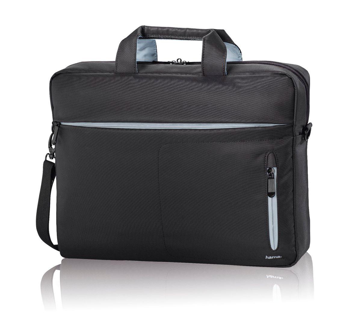 Hama Laptop Tasche für 17 Zoll (bis 44 cm) Notebooktasche »Aktentasche (17,3 cm)«
