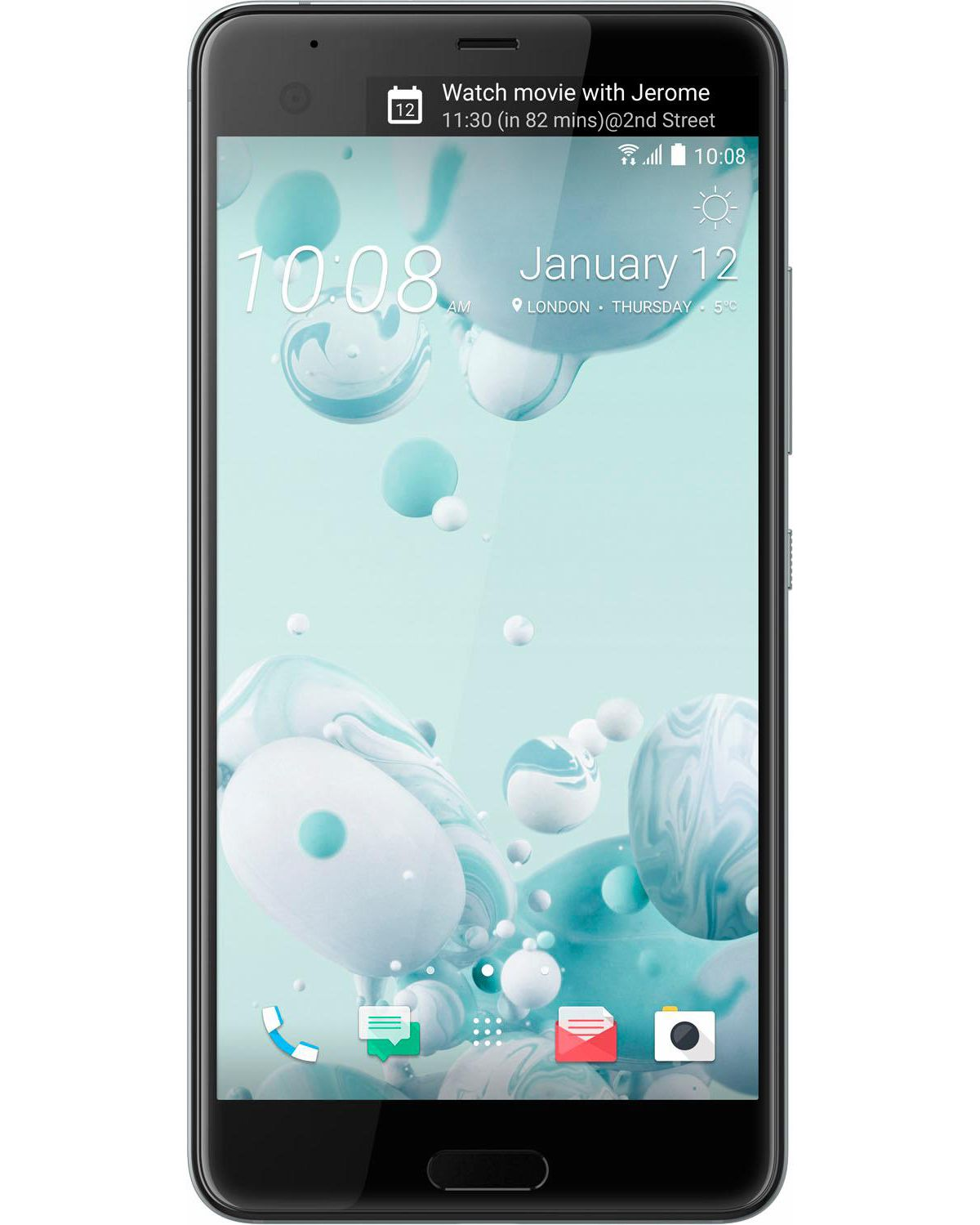 HTC U Ultra 64GB Smartphone, 14,5 cm (5,7 Zoll) Display, LTE (4G), Android, 12,0 Megapixel, NFC