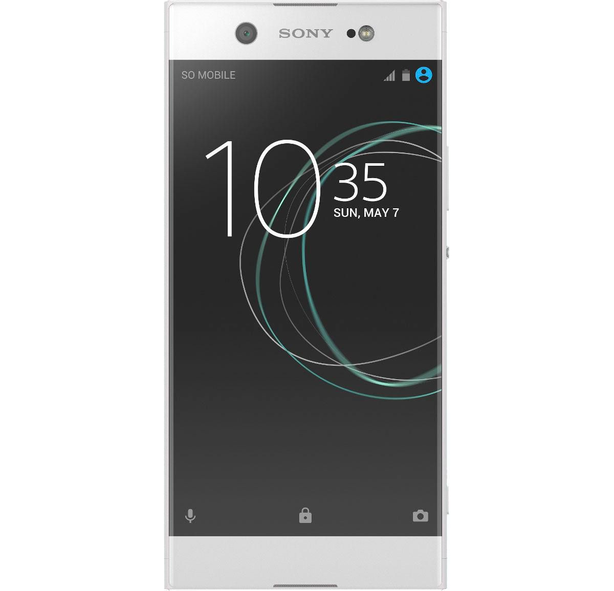 Sony Xperia XA1 Ultra Smartphone, 15,24 cm (6 Zoll) Display, LTE (4G), Android 7.0, 23,0 Megapixel