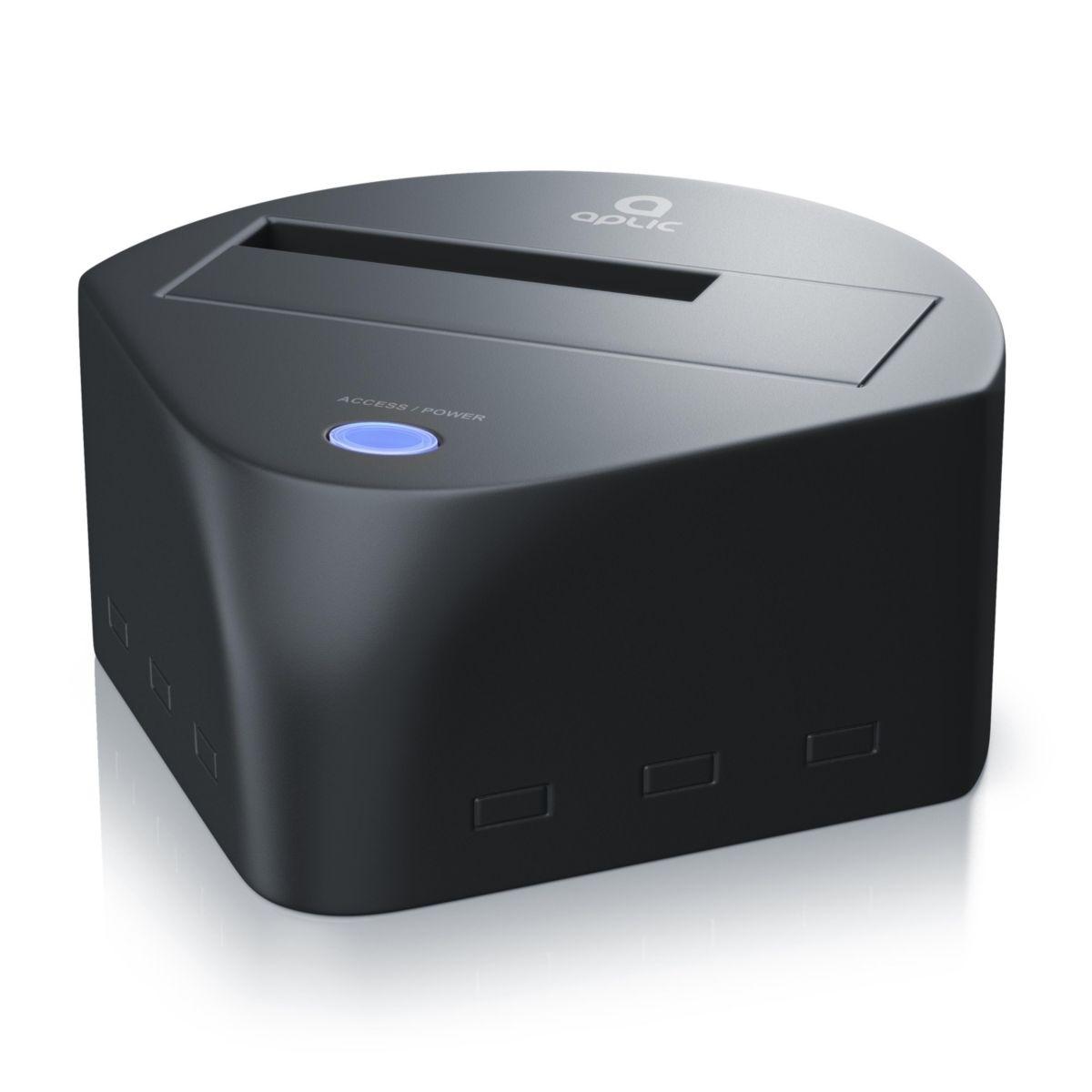Aplic USB 3.0 Festplatten Dockingstation mit Fast-Backup »SSD/HDD / 2,5\´´+3,5\´´´´ / SATA-I+II+III«´´