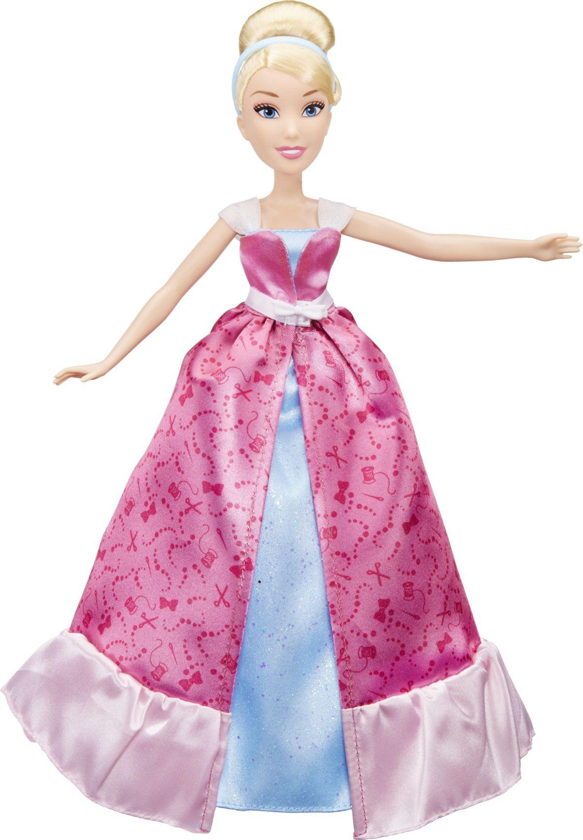 Hasbro Prinzessin Puppe, »Disney Princess Verwandle dich Cinderella«