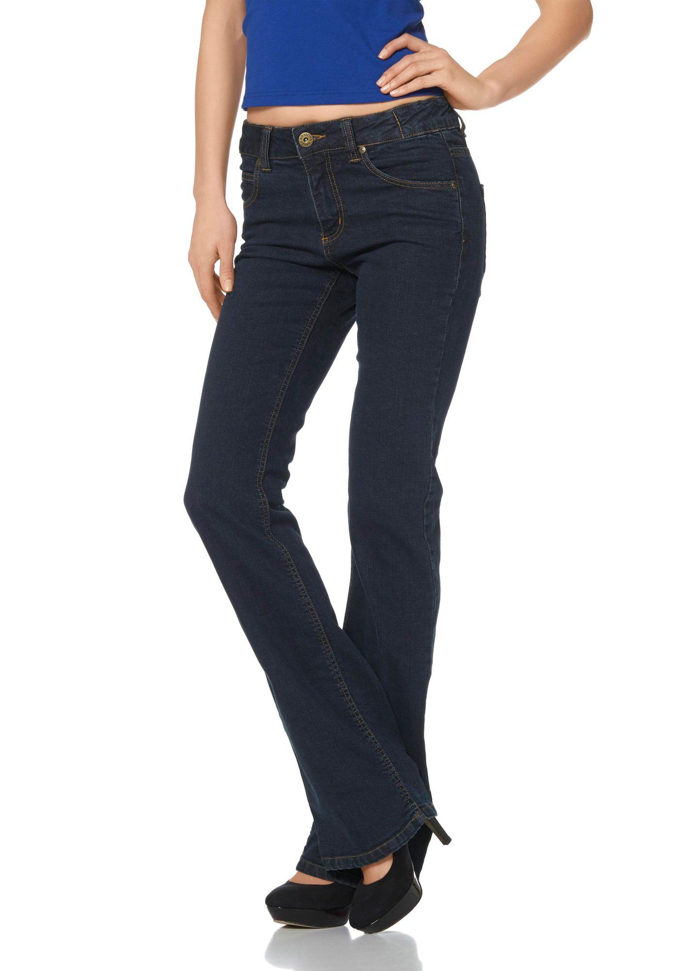 джинсы клеш женские купить с доставкой